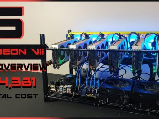 Radeon VII Mining Rig Build | HIGH 480 MH/s and 1240 Watts!!