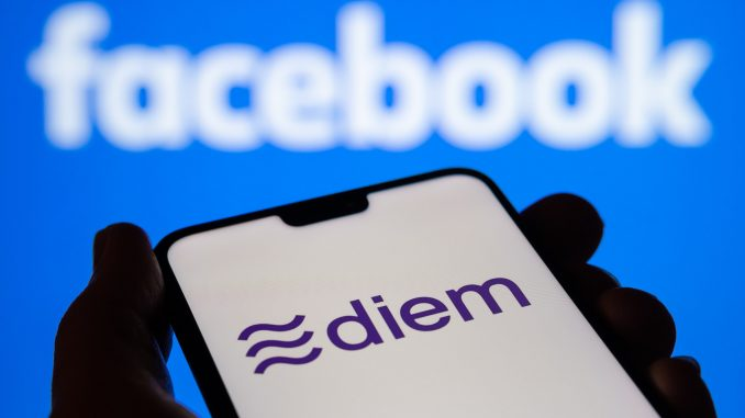 Diem says it is not under or intertwined with Facebook